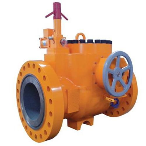 Self-operated safety shut-off valve